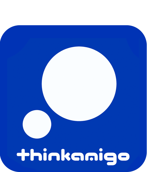 thinkamigo, research, design and communications logo